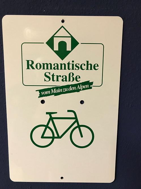 Radschild Romantische Straße