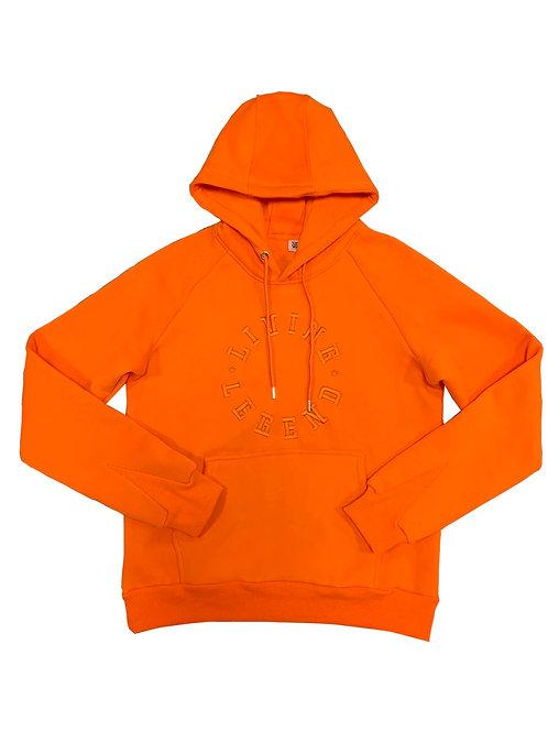 Living Legend Orange Hoodie