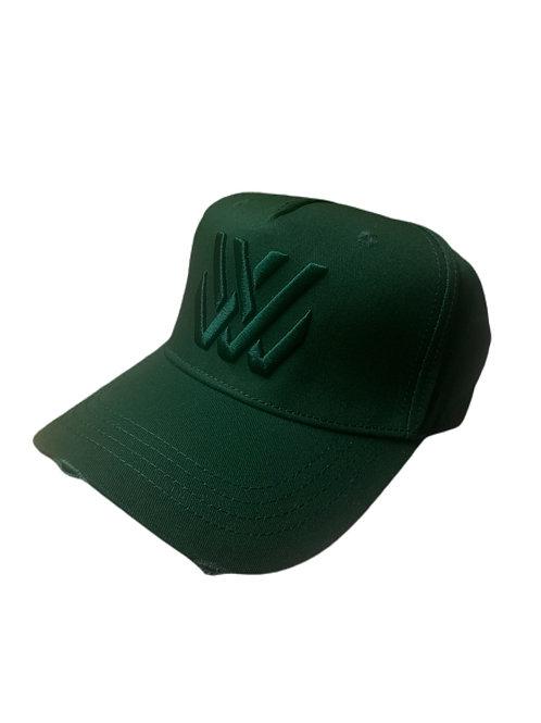 Living Legend Green Distressed Baseball Cap