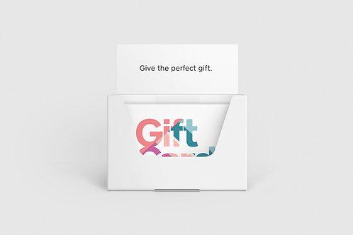 $1000 Plastic Gift Card