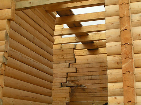 Log House Construction