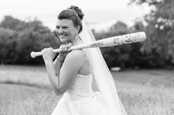 Custom Wedding Bats
