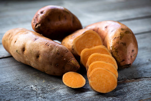 Sweet Potatoes Red and Purple