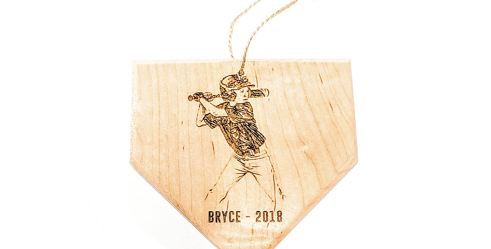 Home Plate Ornaments