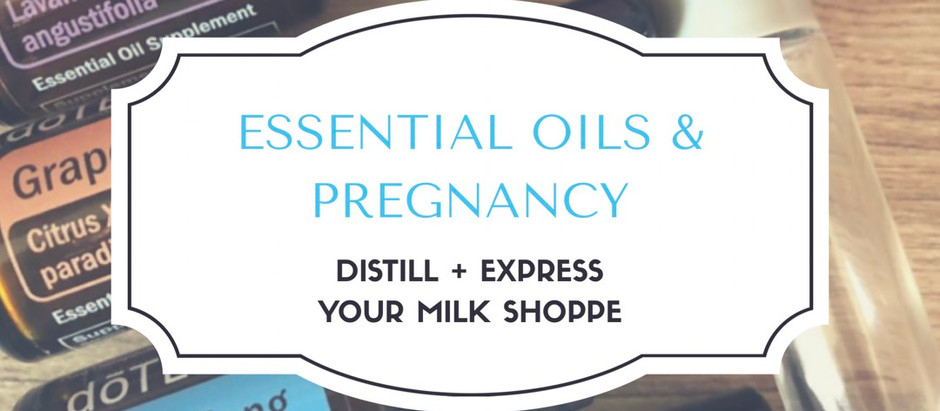 Using Essential Oils in Pregnancy | Distill + Express