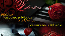 A SAN VALENTINO                          REGALA UN CORSO DI MUSICA
