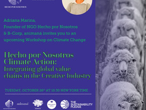HECHO X NOSOTROS & Animaná Collaborate for Systemic Change in the Fashion,Leather & Textile Industry