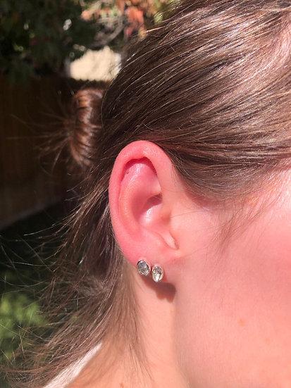 Herkimer Diamond Earrings100% Sterling Silver