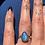 Thumbnail: Large Labradorite Ring 100% Sterling Silver