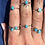 Thumbnail: Turquoise Ring 100% Sterling Silver