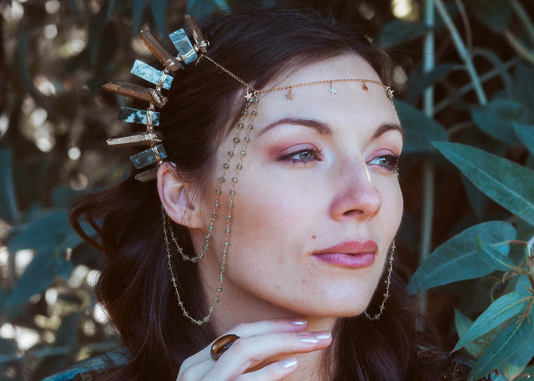 Sage Star Goddess Mini-Crown Set