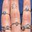 Thumbnail: Raw Labradorite Ring 100% Sterling Silver