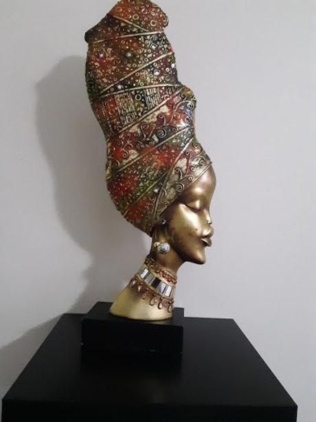 African Queen Bust