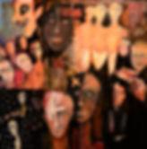 Club Baths     Oil on Canvas  30 X 30.JP
