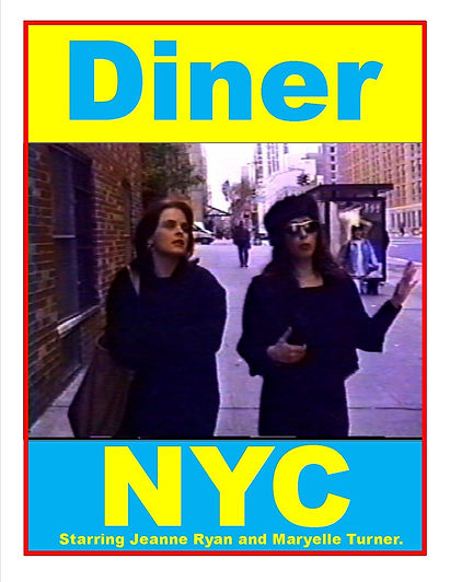 Maryelle Turner in sitcom Diner NYC