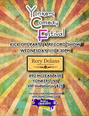 Maryelle Turner hosting Yonkers Comedy Festival at Rory Dolan's