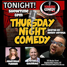 Maryelle Turner at Yonkers Comedy Club