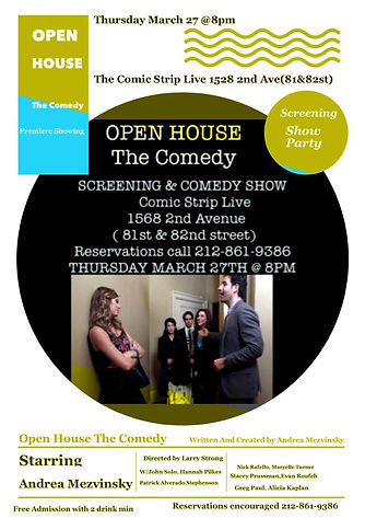 Maryelle Turner in sitcom pilot Open House