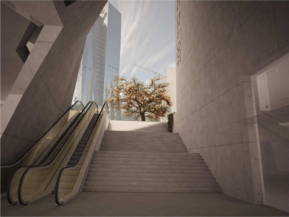 Urban Planning Menachem Begin District 100