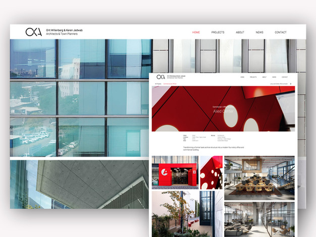 OKA Architects webstie