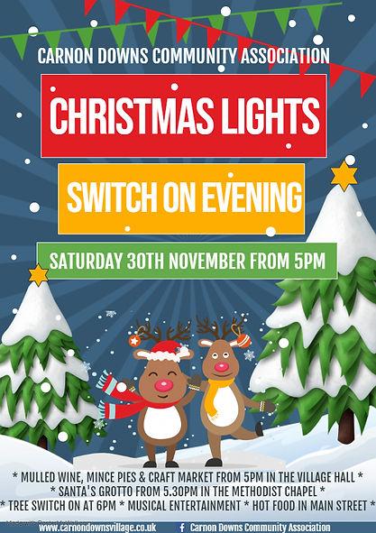 New Christmas Lights evening poster 2019