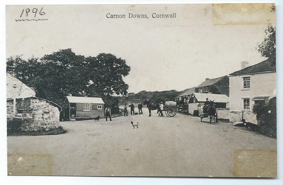 Carnon Downs old crossroads