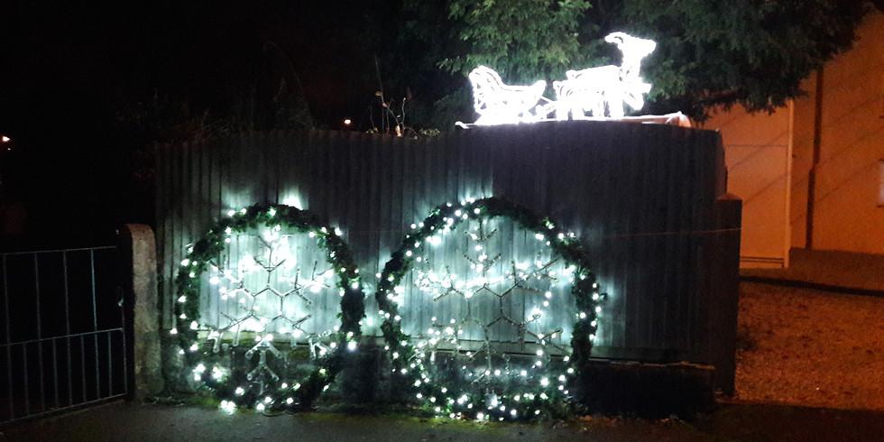 Putting up the Christmas Lights