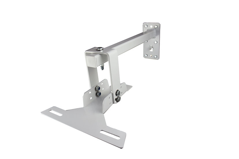 MOUNTING SOLUTIONS Top Fitting Bracket for WS12 - White