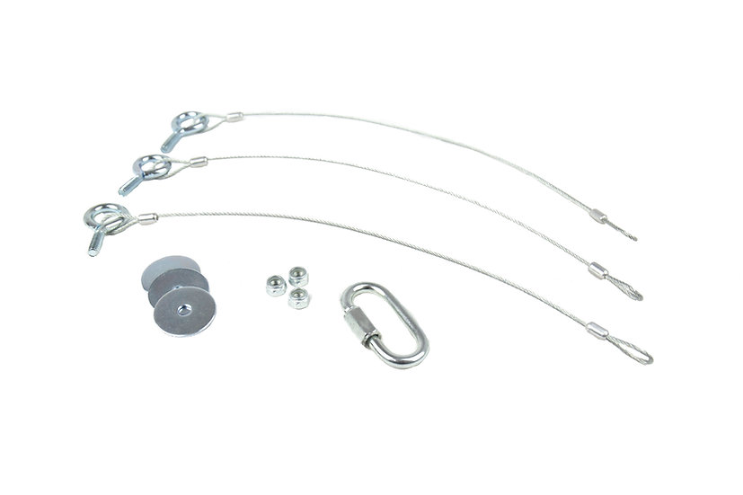 MOUNTING SOLUTIONS Speaker Can Suspension Kit