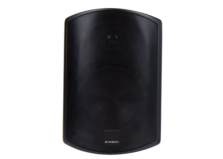 "IO Series™ 6"" IP66 100V Plastic Cabinet Speaker - Black"