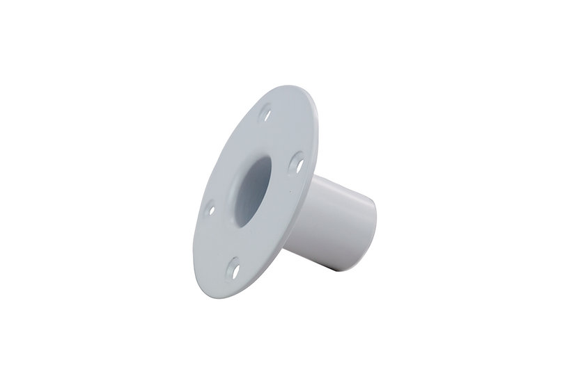 MOUNTING SOLUTIONS Top Hat Socket for WS10 - White