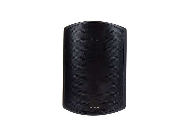 "IO Series™ 4"" IP66 100V Plastic Cabinet Speaker - Black"