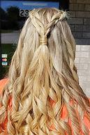 Braid with curls