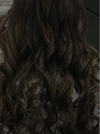Beautiful beachwave curls