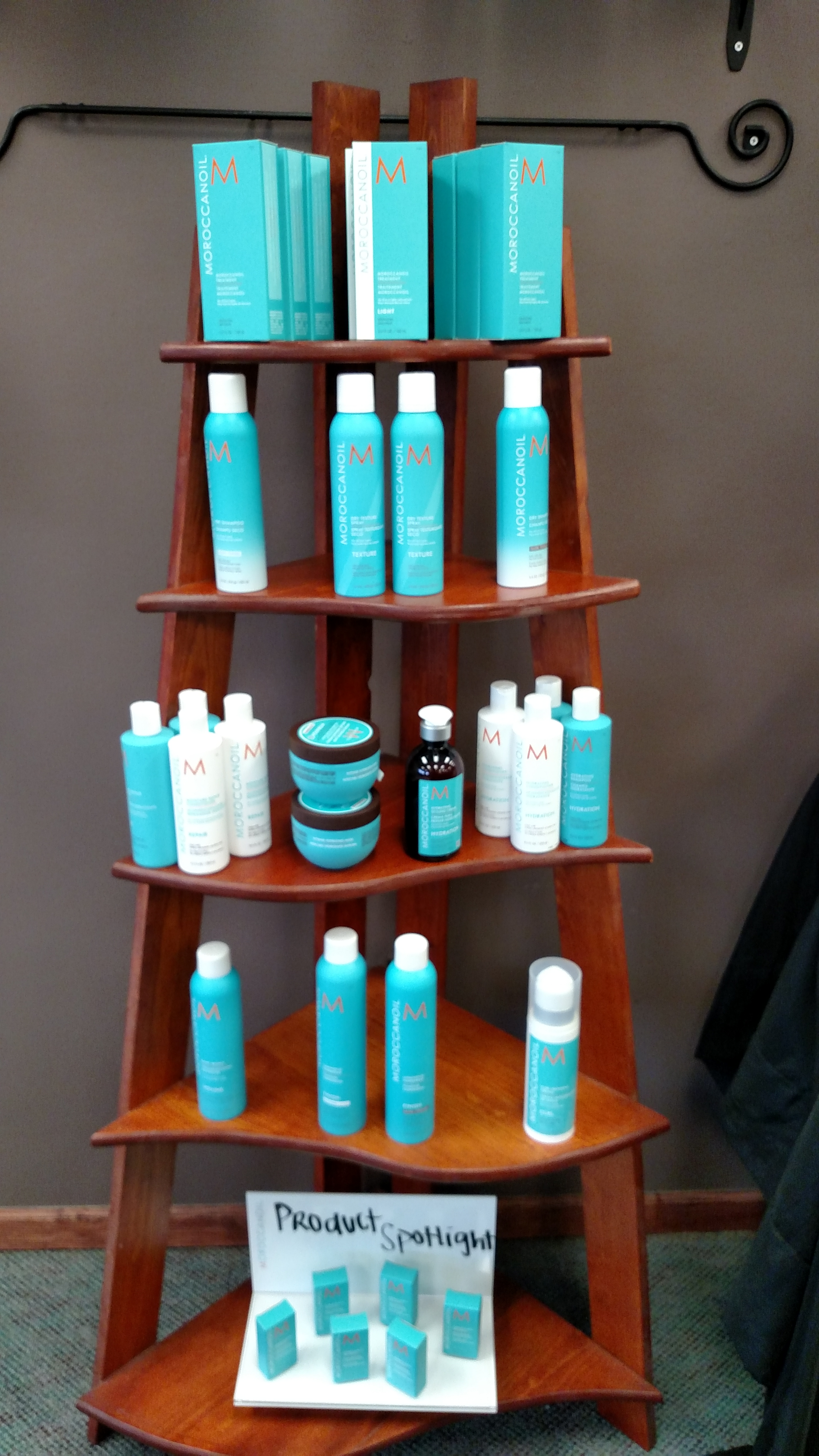 Moroccanoil Display