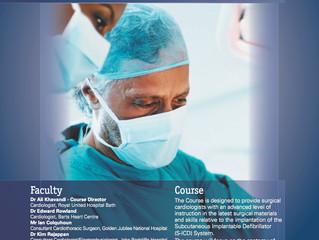Advanced Surgical Techniques for Subcutaneous  Defibrillator (S - ICD) Implantation - Bristol 27th M
