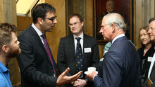 A pleasure talking cardiovascular health and food with HRH The Prince of Wales