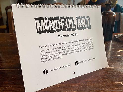 Mindful Art 2020 Calendar