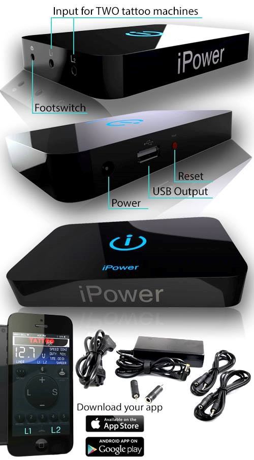 iPower Supply (Made In Italy)
