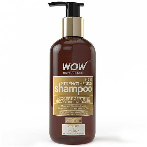WOW Skin Science Hair Strengthening Shampoo - 300 mL