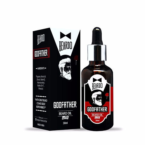 BEARDO GODFATHER Lite Beard Oil – 30ml
