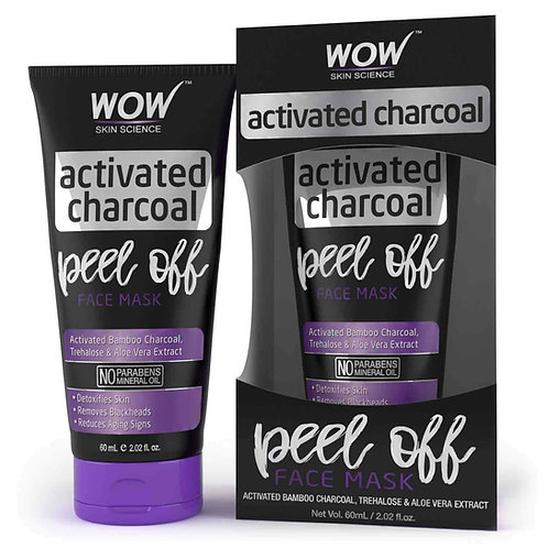 WOW Skin Science Charcoal Peel Off - 60 mL