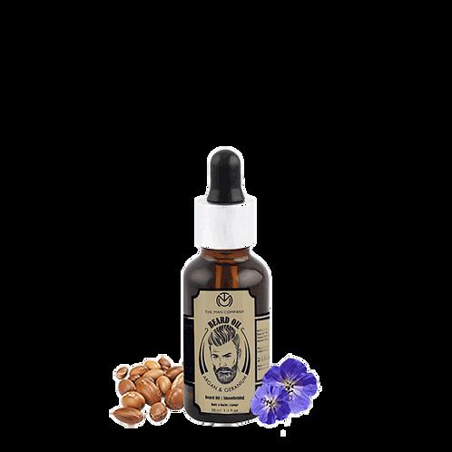 Beard Oil | Argan & Geranium