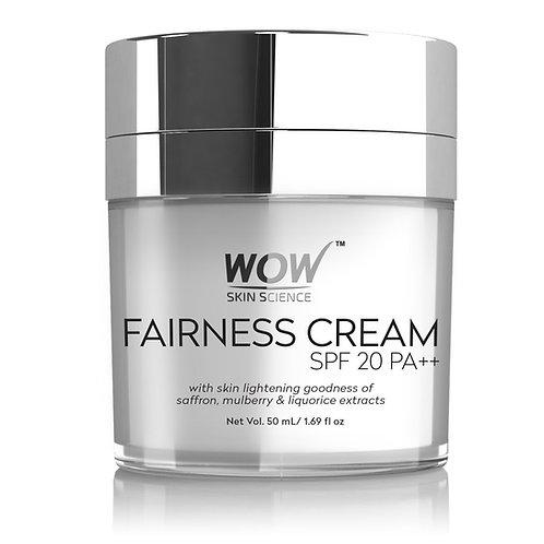 WOW Skin Science Fairness Cream - SPF 20 PA++ - 50 ml