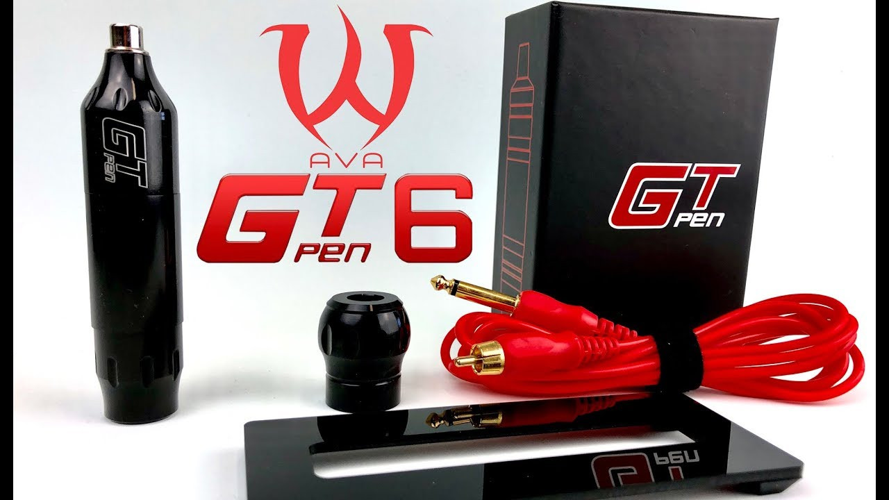 Import Motor GT6 Cartridge Tattoo Pen Set