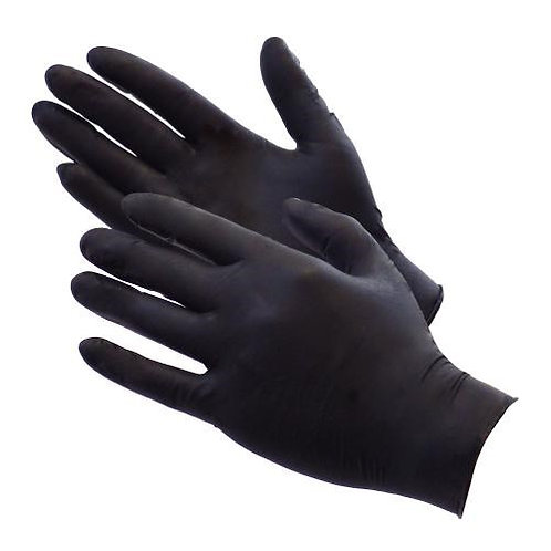 Nitrile Gloves Black High Quality 100Pcs