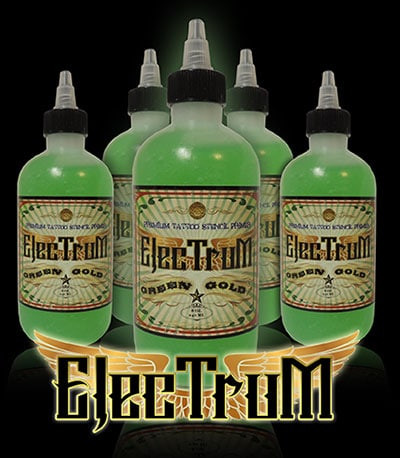 Electrum Premium Tattoo Stencil Primer USA 4oz / 8oz