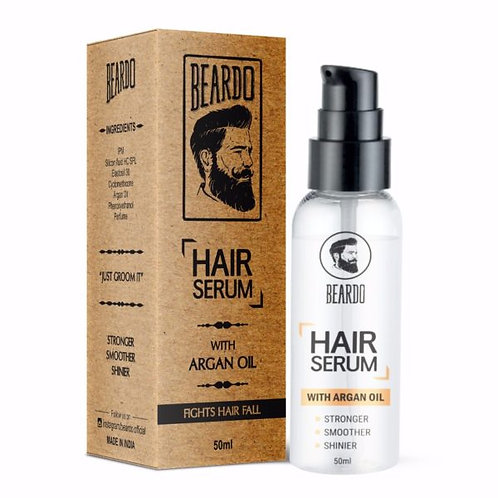BEARDO HAIR SERUM – With Argon Oil- 50ml