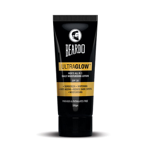 BEARDO ULTRAGLOW All in 1 Men's Face Lotion – 100g