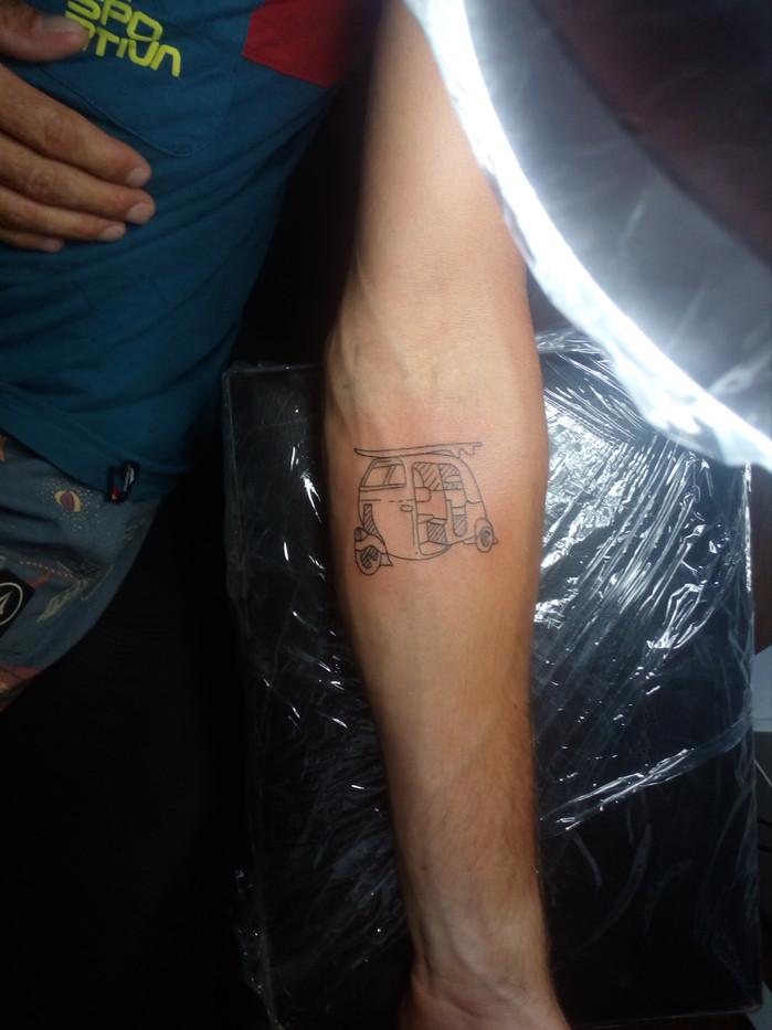 TUK TUK tattoo